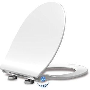 Deska WC wolnoopadająca SOFT LED