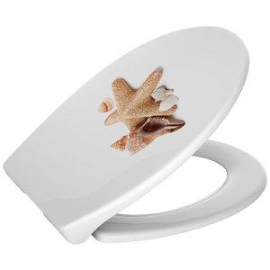 Deska WC wolnoopadająca SHELL LUX
