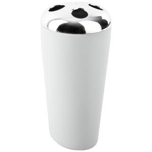 Kubek na szczoteczki BELIZZA biały