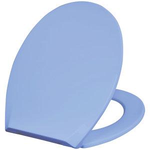 Deska WC SOFT ECO niebieska