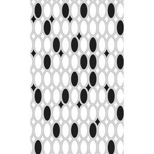 Zasłona łazienkowa STONES czarna