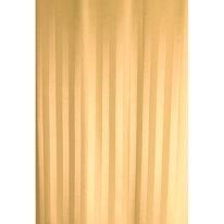 Zasłona łazienkowa ZEBRA żółta