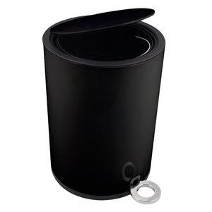Kosz POPPIS czarny