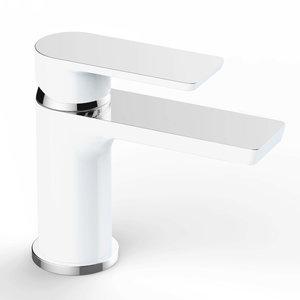 Bateria umywalkowa RIVER VIEW biały