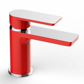 Bateria umywalkowa RIVER VIEW czerwony