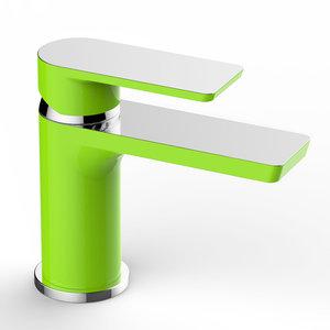 Bateria umywalkowa RIVER VIEW zielony