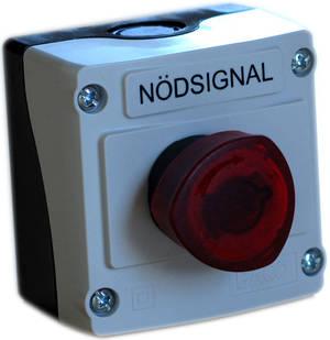 Äldre modell, nödsignalknapp SCB1DL