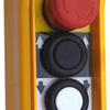 Actuator Handheld Control box with 4 buttons and emergency stop