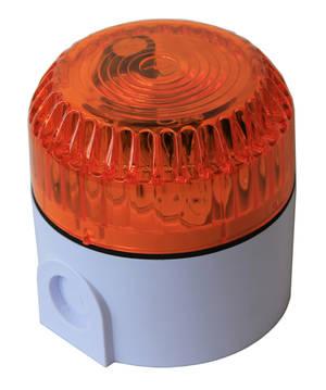 Orange flashing light 2W
