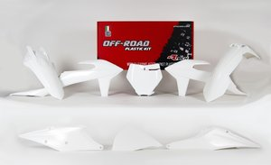 Plastkit Racetech | KTM 125 (Vit)