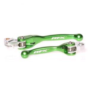 Flexibla broms/koppling grepp (Grön)