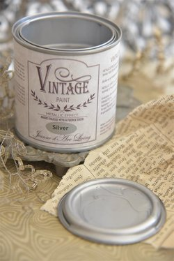 Vintage Paint Silver Metallic 200 ml