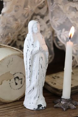 Madonna 15 cm valkoinen