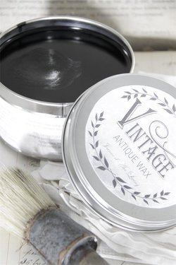 Vintage wax svart 370 ml