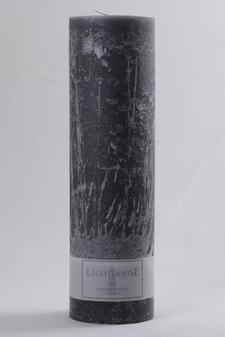 Cylinderljus Rustic Grey 100x350 mm