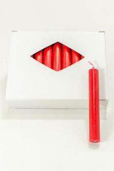 Julgransljus Red 13x100 mm 20-p
