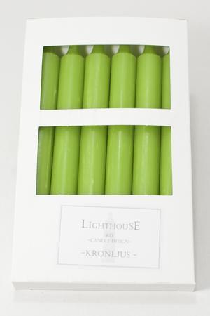 Kronljus Green 21x210 mm 6-p