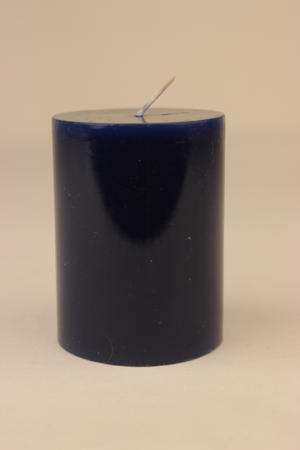 Cylinderljus Lack Dark Blue 60x80 mm