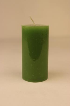 Cylinderljus Lack Green 60x120 mm