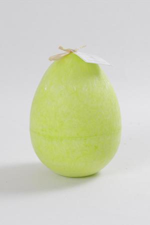 Stearinägg Green Lemon 100x135mm