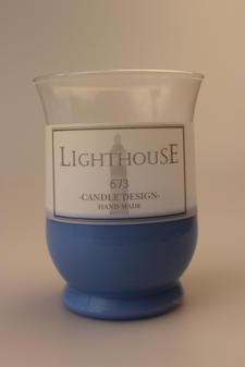 Garden Bordslykta Inne/Ute Light Blue 90x120 mm