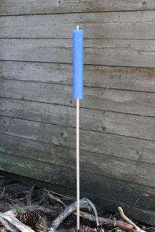 Garden Fackla utomhus Light Blue 35x230 mm