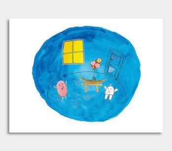 Daumen Canvas Blaueszimmer