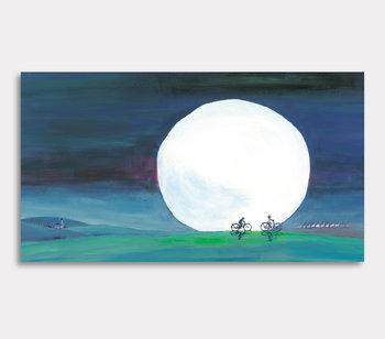 Månen - canvastavla
