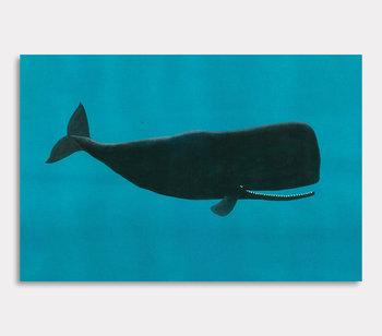 Leinwand Gemälde, Valdemar der Wal – In der Welt der Ozeane