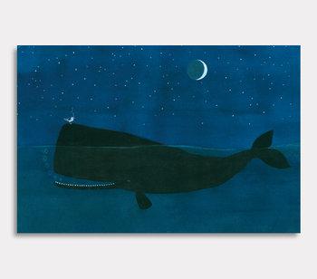 Leinwand Gemälde, Der Ozeanfelsen Valdemar und Harry Möve
