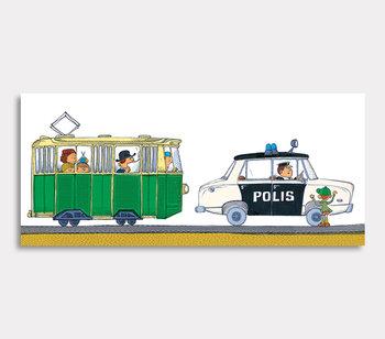 Olle das Polizeiauto und die Strassenbahn