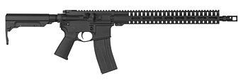 "CMMG Resolute 200 MK4 22LR Rifle 17"" - BLK"