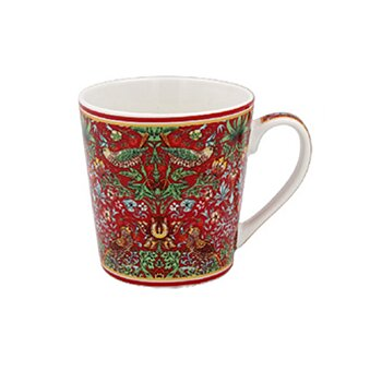 William Morris Red Strawberry Thief - Mugg