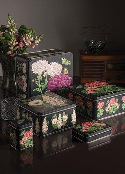 Litet Skrin - Madame Treacle Platt Rektangulär Botanical