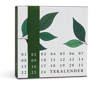 Tekalender - Adventskalender med Te från Johan & Nyström