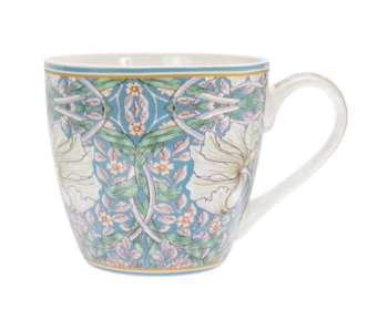 William Morris Teal Pimpernel- Frukostmugg