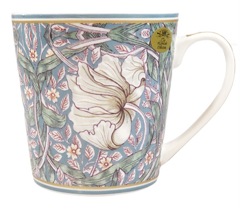 William Morris Teal Pimpernel - Mugg