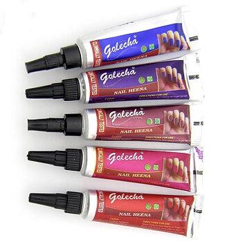 Golecha nagelhenna - flera färger