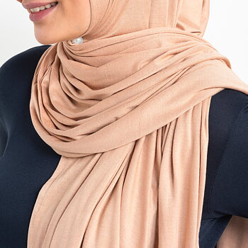 Jersey hijab - Golden