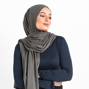 Jersey hijab - Khaki