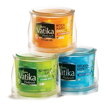 Vatika Strong Hold Gel Cream - Slick 250ml