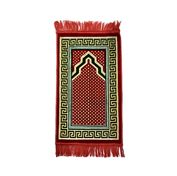 Small children`s prayer mat Sumaya red
