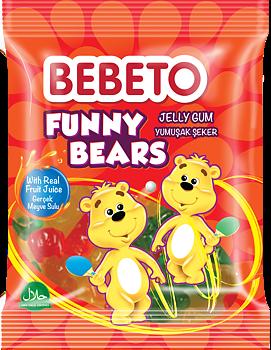 BEBETO HALAL Funny Bears 80g