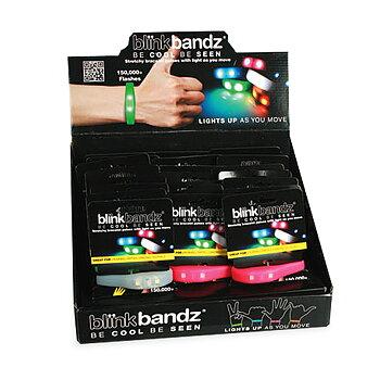 Silikonarmband Blink Bandz Färg Transparent