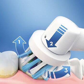 Elektrisk Tandborste Oral-B 600 Pro Purpur OR: Violett