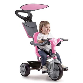 Trehjuling Feber Baby Plus Music Rosa