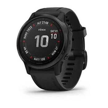 "Smartklocka GARMIN Fenix 6S Pro 1,2"" GPS Svart"