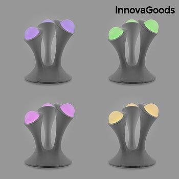 Fluorescerande LED lampa Multicolor InnovaGoods