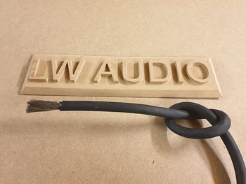 Lw Audio förtent 120mm2 Gummikabel