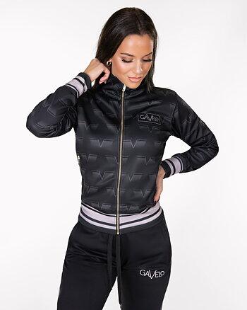 GAVELO Track Jacket  Classic Black